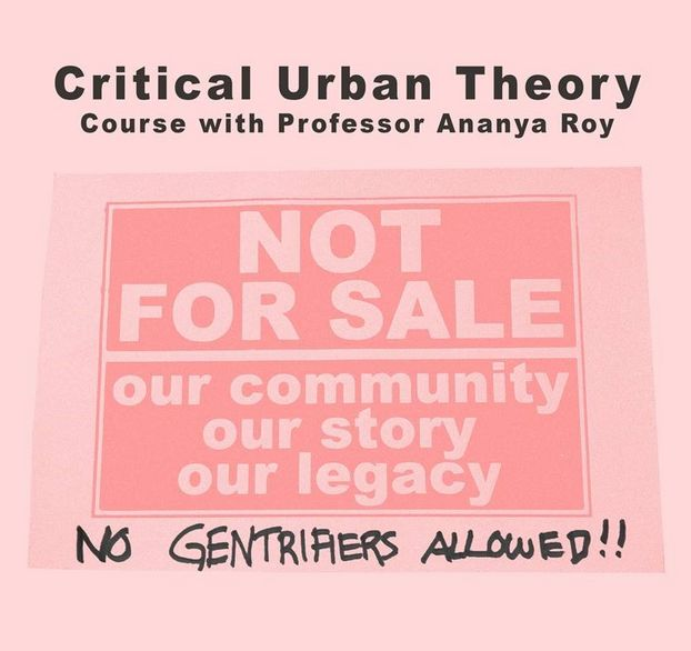 Blockcourse Prof. Ananya Roy